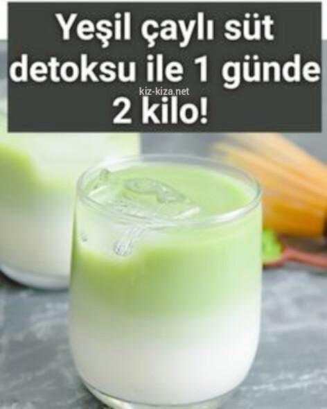 Süt ve YeşiL Çay iLe KiLo Verme NasıL oLur